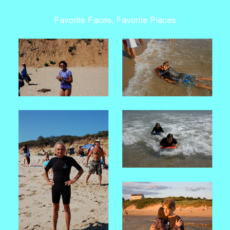Tabblo: Favorite Faces, Favorite Places