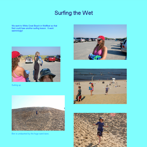 Tabblo: Surfing the Wet