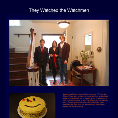 Tabblo: They Watched the Watchmen