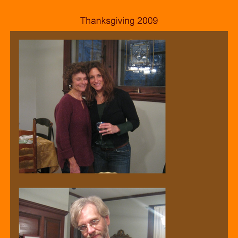 Tabblo: Thanksgiving 2009