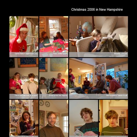 Tabblo: Christmas 2006 in New Hampshire