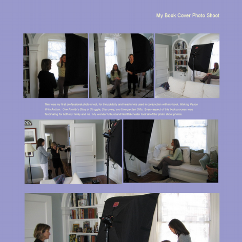 Tabblo: My Book Cover Photo Shoot