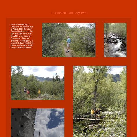 Tabblo: Trip to Colorado:  Day Two